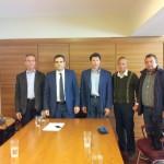 Συνάντηση με εκπροσώπους του Συνδέσμου Ελληνικού Κελυφωτού Φιστικιού