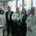 Επίσκεψη Του Αναπληρωτή Υπουργού στο Κτηνιατρικο Κέντρο Αθηνών