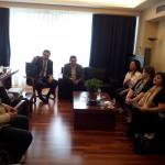 Συνάντηση του Αναπληρωτή Υπουργού κ. Θεόφιλου Λεονταρίδη με  Αγροτικούς Συνεταιρισμούς Γυναικών