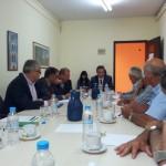 Συσκεψη Αν. Υπουργού κ. Θ. Λεονταρίδη για το μέλλον της τευτλοκαλλιέργειας