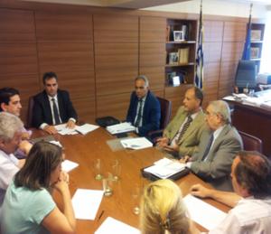 Συνάντηση Αναπληρωτή Υπουργού κ.Θεόφιλου Λεονταρίδη με ΣΠΕΛ