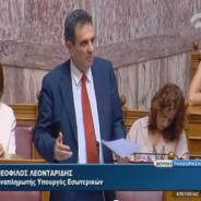 Τροπολογία στην Βουλή για την λύση της μεταφοράς των μαθητών – 10/09/2014